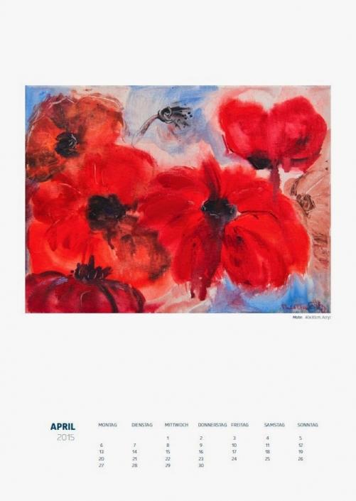 Theresa Fritz: Kalender 2015 - April