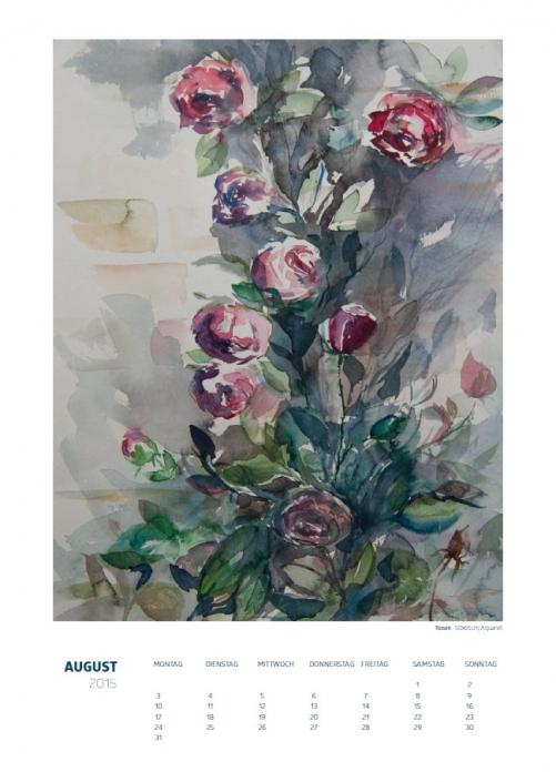Theresa Fritz: Kalender 2015 - August