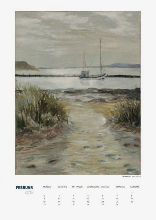 Theresa Fritz: Kalender 2015 - Februar