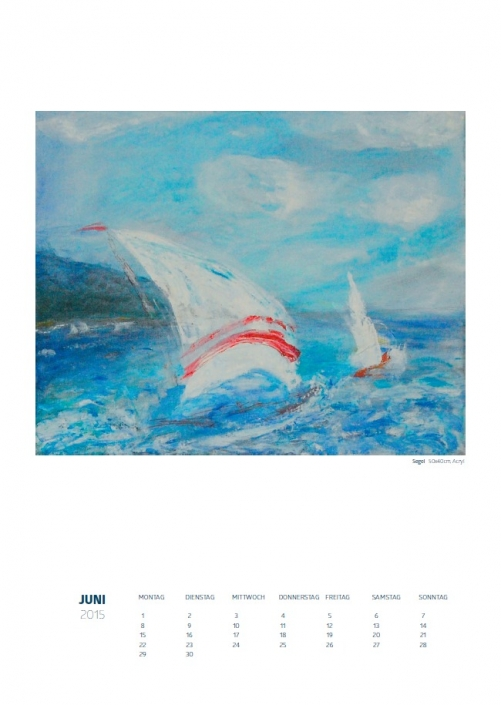 Theresa Fritz: Kalender 2015 - Juni