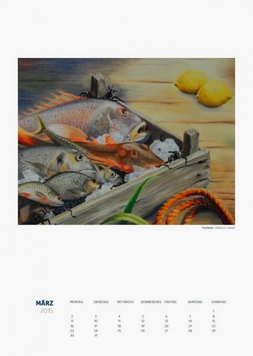 Theresa Fritz: Kalender 2015 - März
