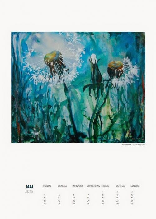Theresa Fritz: Kalender 2015 - Mai