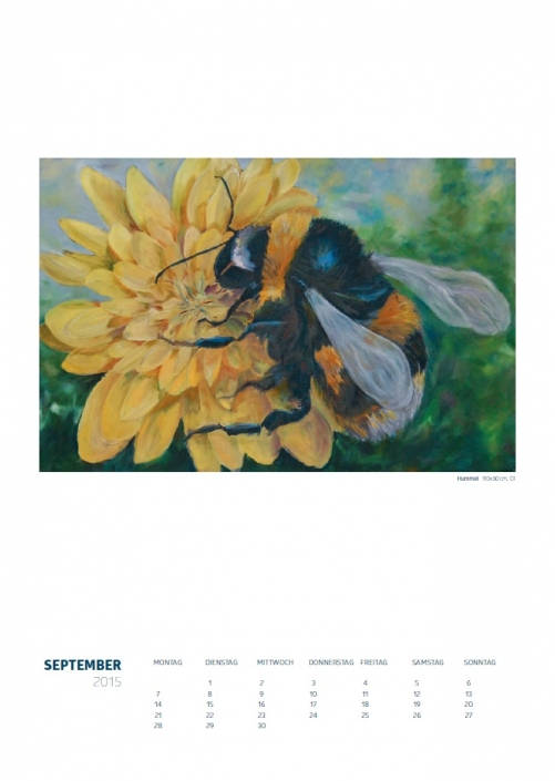 Theresa Fritz: Kalender 2015 - September