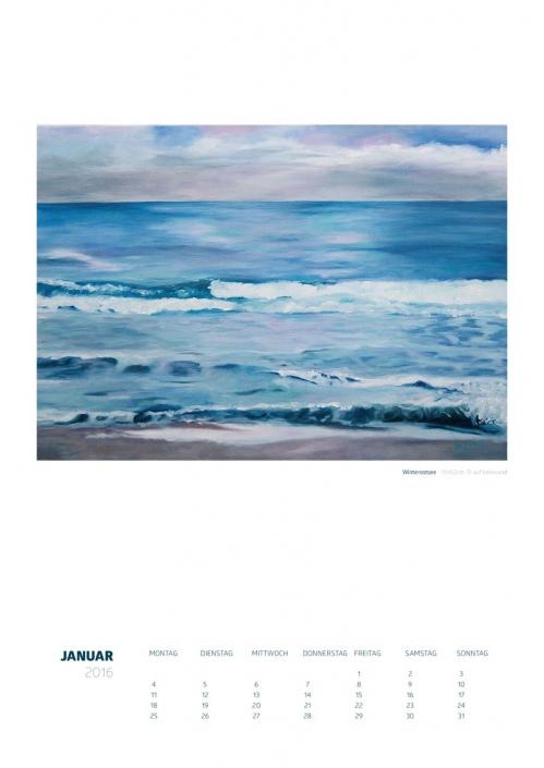 Theresa Fritz: Kalender 2016 - Januar