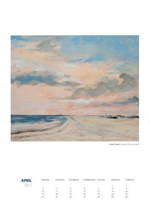 Theresa Fritz: Kalender 2017 - April