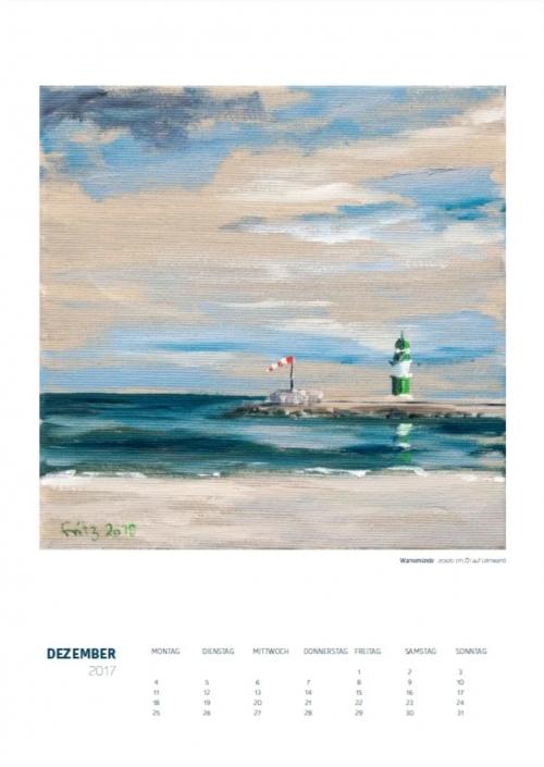 Theresa Fritz: Kalender 2017 - Dezember
