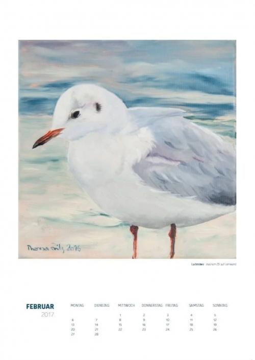 Theresa Fritz: Kalender 2017 - Februar