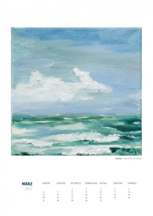 Theresa Fritz: Kalender 2017 - März
