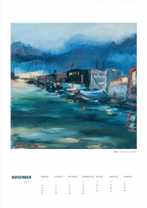 Theresa Fritz: Kalender 2017 - November