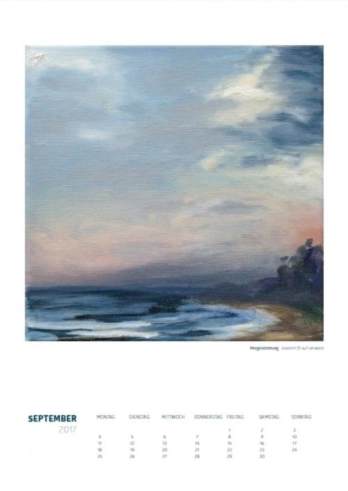 Theresa Fritz: Kalender 2017 - September
