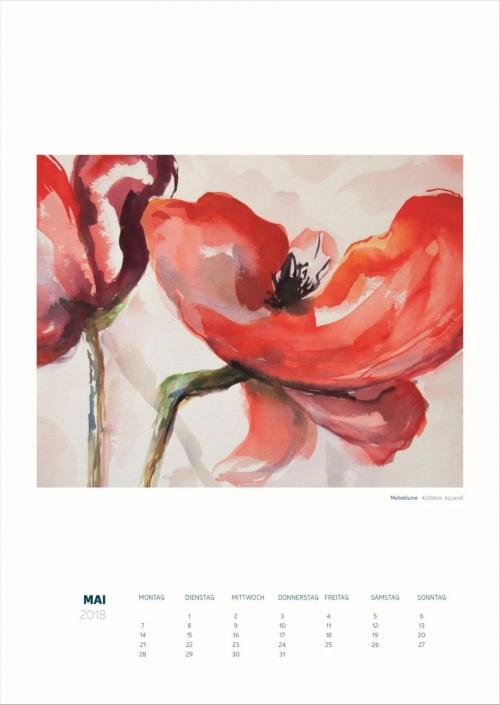 Theresa Fritz: Kalender 2018 - Mai
