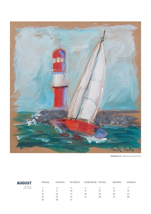 Theresa Fritz - Kalender2016: August