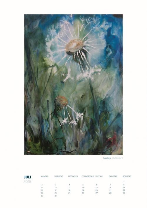 Theresa Fritz, Kalender 2018: Juli