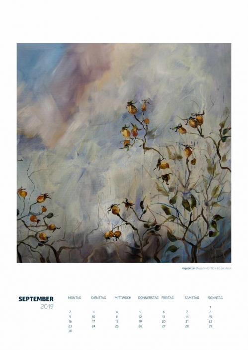 Theresa Fritz: Kalender 2019 - September
