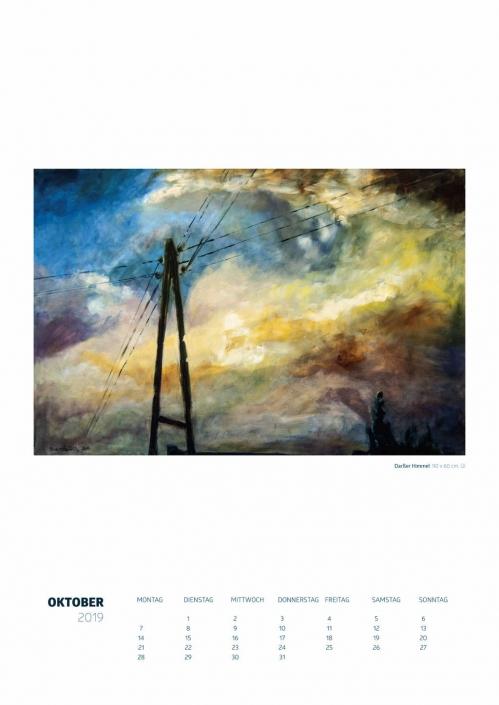 Theresa Fritz: Kalender 2019 - Oktober