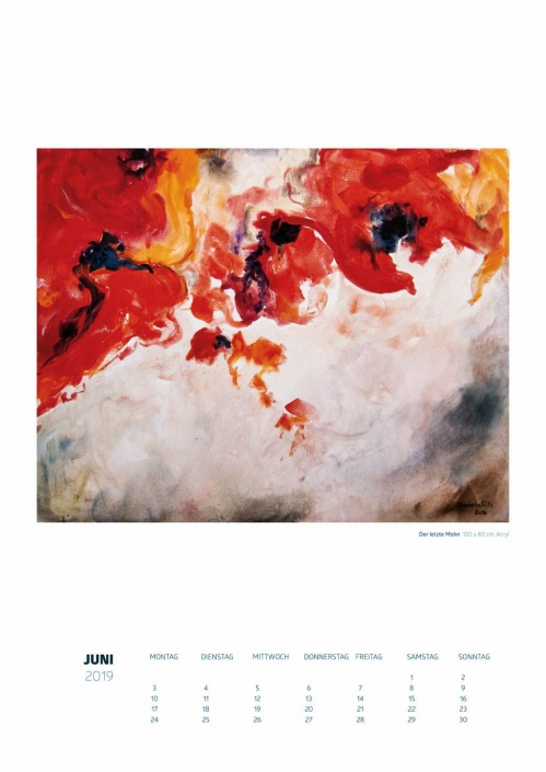 Theresa Fritz: Kalender 2019 - Juni