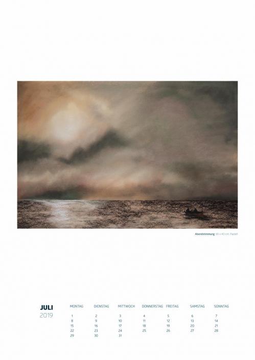 Theresa Fritz: Kalender 2019 - Juli